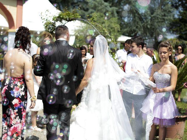 Il matrimonio di Max e Rosy a Soliera, Modena 73