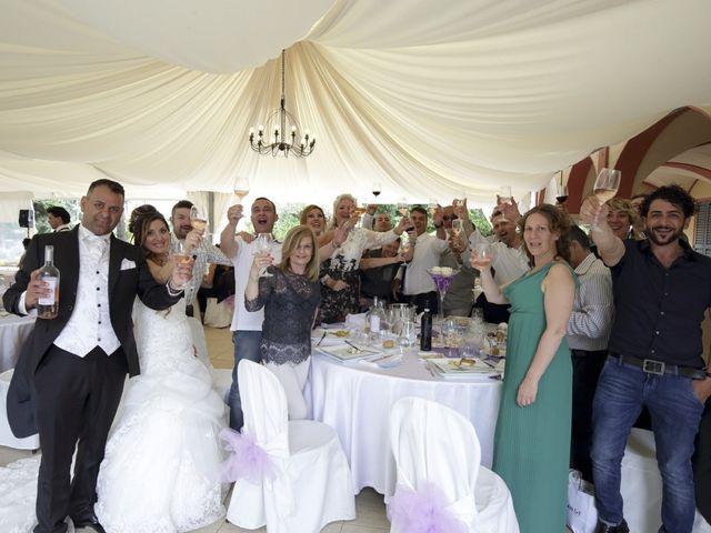 Il matrimonio di Max e Rosy a Soliera, Modena 108