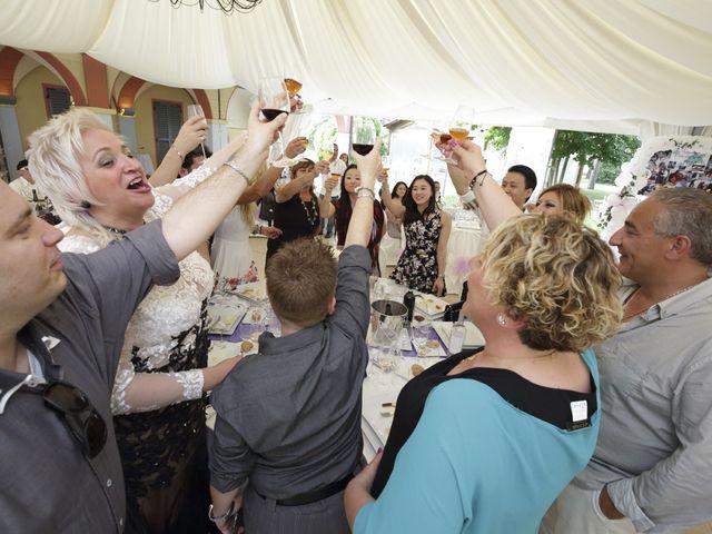 Il matrimonio di Max e Rosy a Soliera, Modena 110