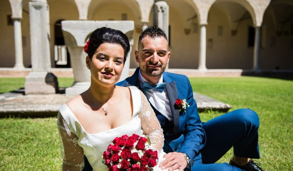 Il matrimonio di Thomas e Federica a Bagnacavallo, Ravenna