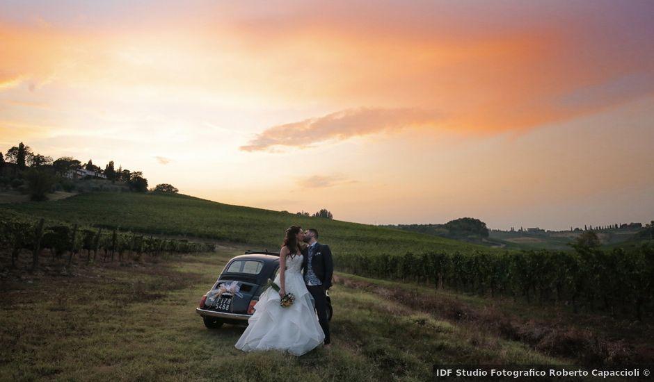 Il matrimonio di Filippo e Elisa a Vinci, Firenze