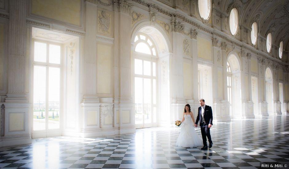 Il matrimonio di Carlo e Mara a Venaria Reale, Torino