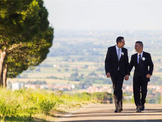 Il matrimonio di Gabriele e Luigi a Dozza, Bologna 40