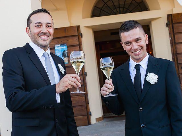 Il matrimonio di Gabriele e Luigi a Dozza, Bologna 43