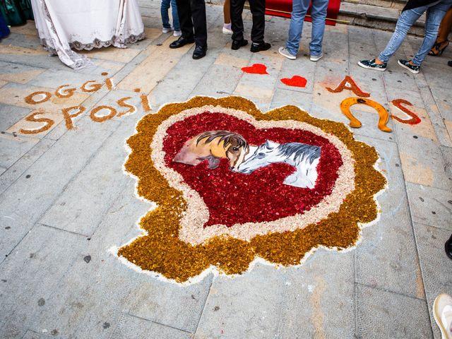 Il matrimonio di Salvatore e Angela a Sciara, Palermo 17