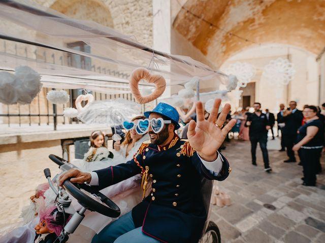 Il matrimonio di Irene e Claudio a Ugento, Lecce 81