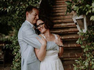 Le nozze di Marlene e Roman