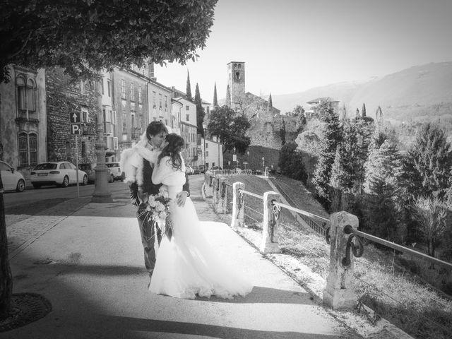 Il matrimonio di Simone e Elena a San Zenone degli Ezzelini, Treviso 50