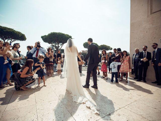 Il matrimonio di Massimiliano e Rosa a Pomezia, Roma 32