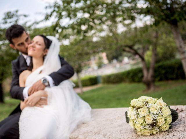 Il matrimonio di Massimiliano e Rosa a Pomezia, Roma 42