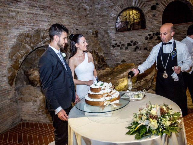 Il matrimonio di Massimiliano e Rosa a Pomezia, Roma 53