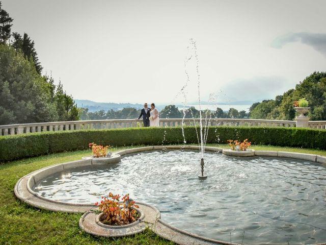 Il matrimonio di Giorgio e Federica a Gazzada Schianno, Varese 8