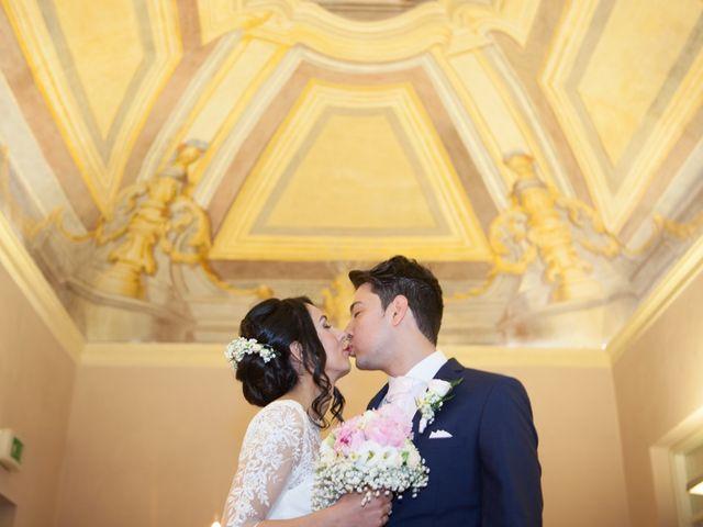 Il matrimonio di Yuri e Brigilda a Foligno, Perugia 19