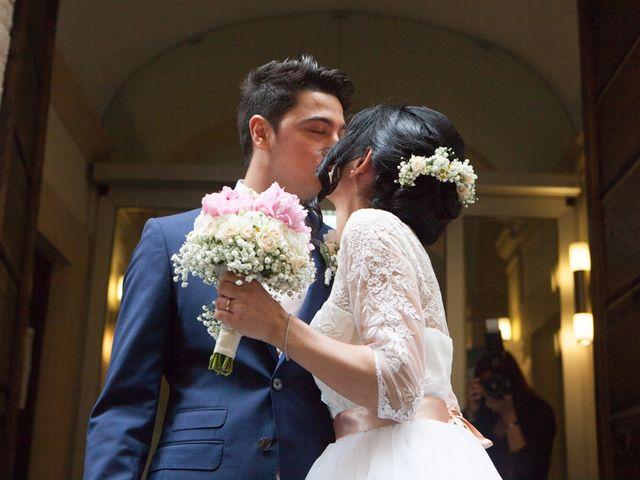 Il matrimonio di Yuri e Brigilda a Foligno, Perugia 20