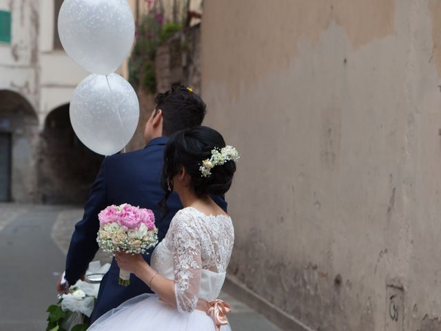 Il matrimonio di Yuri e Brigilda a Foligno, Perugia 24