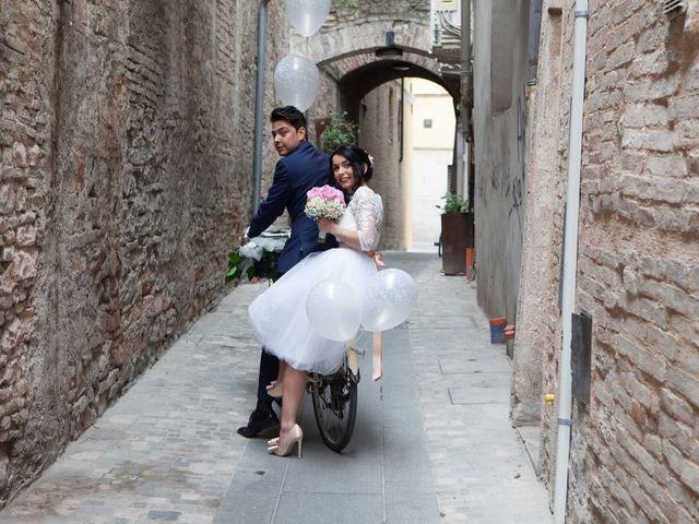 Il matrimonio di Yuri e Brigilda a Foligno, Perugia 26