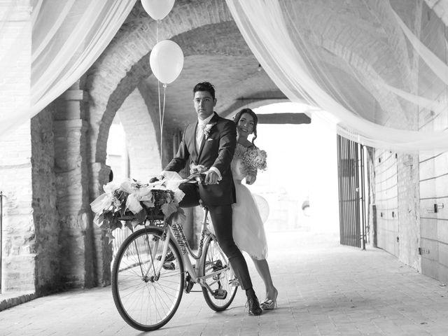 Il matrimonio di Yuri e Brigilda a Foligno, Perugia 33