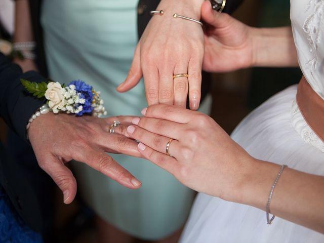 Il matrimonio di Yuri e Brigilda a Foligno, Perugia 45