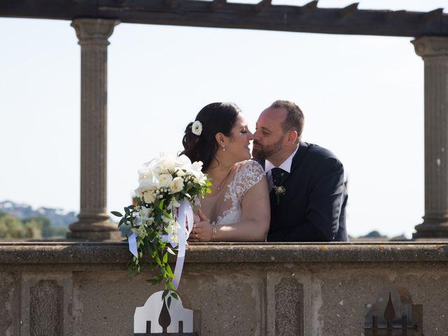 le nozze di Carmen e Fabio