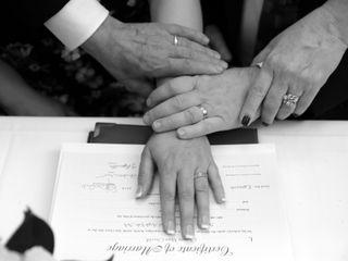 Le nozze di Rosemarie e Vincent