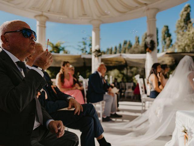 Il matrimonio di Marino e Chantal a Torre di Mosto, Venezia 36