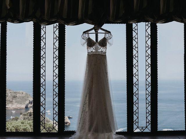 Il matrimonio di Rosario e Marika a Taormina, Messina 9