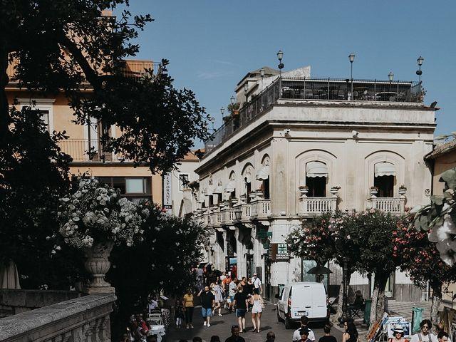 Il matrimonio di Rosario e Marika a Taormina, Messina 25
