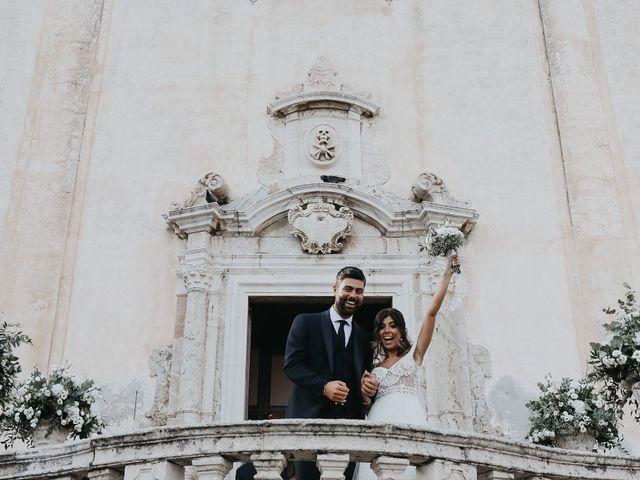 Il matrimonio di Rosario e Marika a Taormina, Messina 30