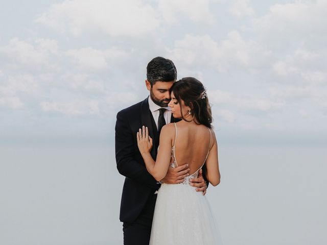 Il matrimonio di Rosario e Marika a Taormina, Messina 35