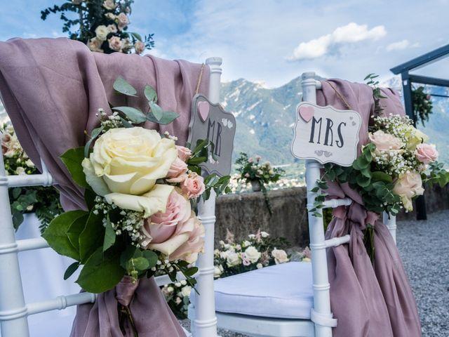 Il matrimonio di Riaan e Elena a Oliveto Lario, Lecco 19