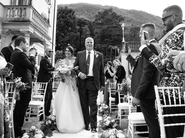 Il matrimonio di Riaan e Elena a Oliveto Lario, Lecco 22