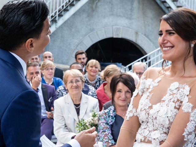 Il matrimonio di Riaan e Elena a Oliveto Lario, Lecco 24