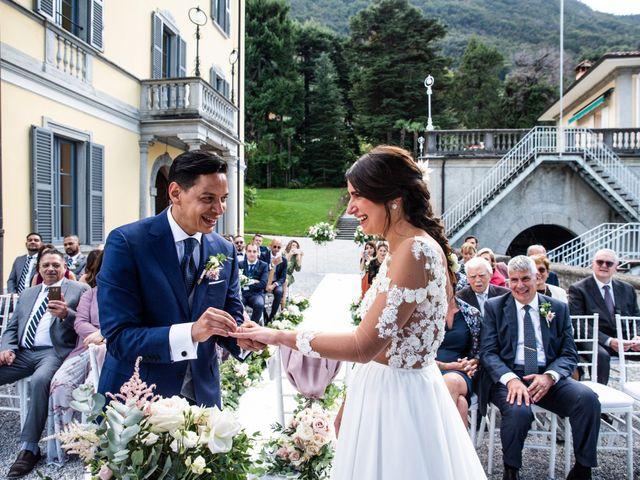 Il matrimonio di Riaan e Elena a Oliveto Lario, Lecco 25