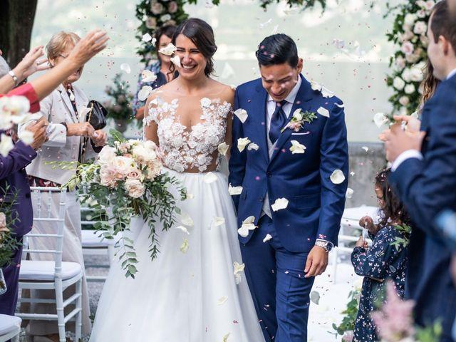 Il matrimonio di Riaan e Elena a Oliveto Lario, Lecco 27