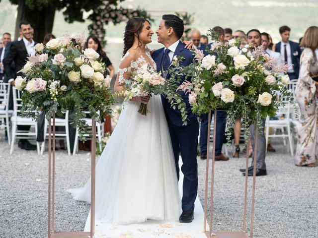 Il matrimonio di Riaan e Elena a Oliveto Lario, Lecco 28