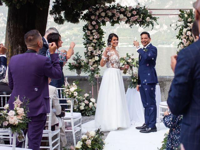 Il matrimonio di Riaan e Elena a Oliveto Lario, Lecco 30