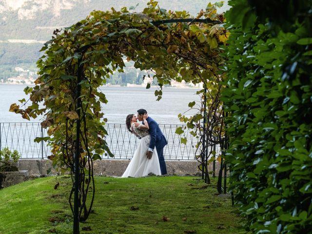 Il matrimonio di Riaan e Elena a Oliveto Lario, Lecco 32
