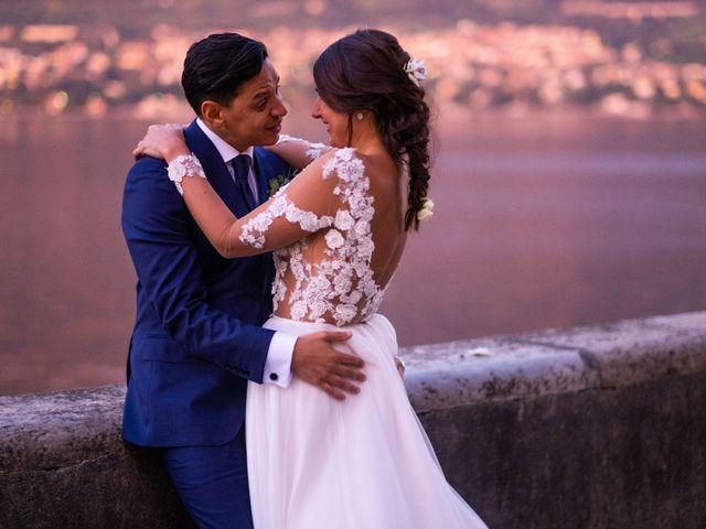 Il matrimonio di Riaan e Elena a Oliveto Lario, Lecco 38