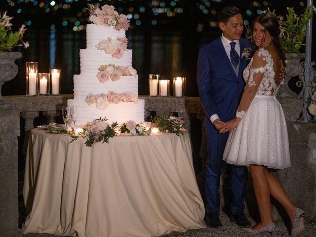 Il matrimonio di Riaan e Elena a Oliveto Lario, Lecco 39