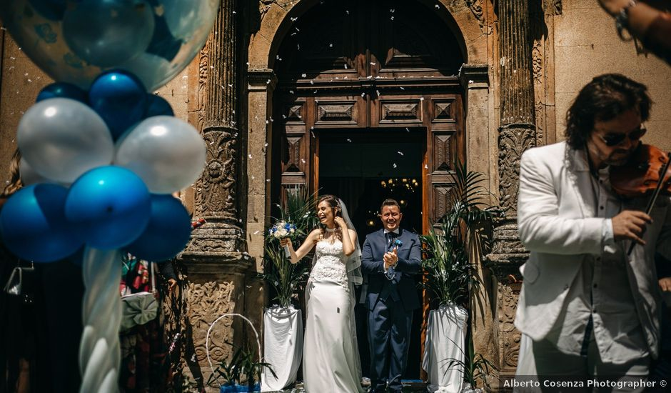 Il matrimonio di Mario e Santina a San Mauro Castelverde, Palermo