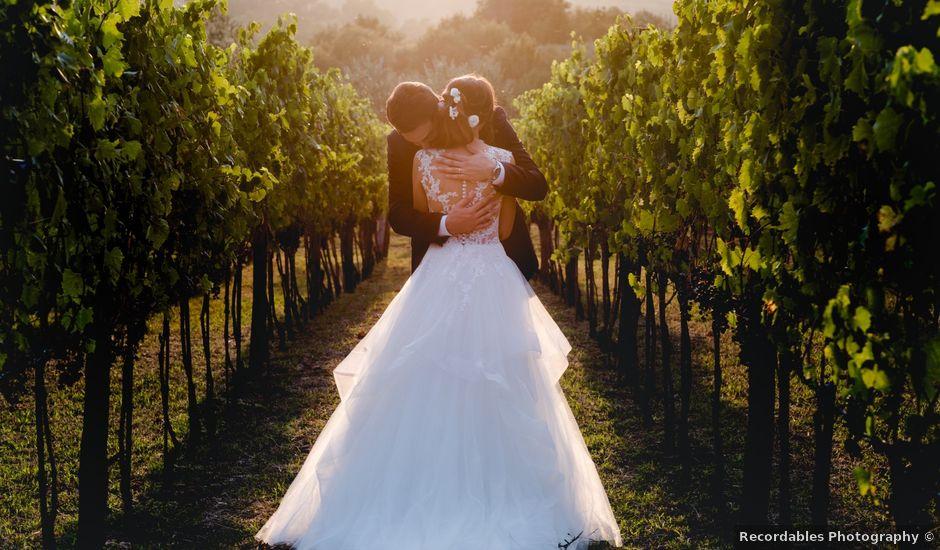 Il matrimonio di Simone e Eva a Pian di Sco, Arezzo