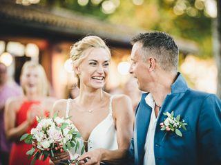Le nozze di Svenja e Carlo