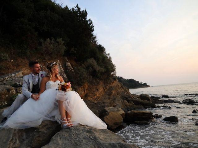 Il matrimonio di Cristel e Giammaria a Scarlino, Grosseto 39