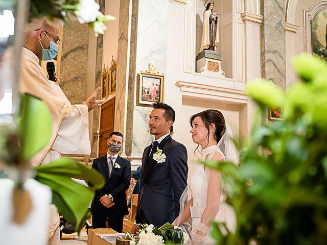 Il matrimonio di Marco e Elena a Bonate Sopra, Bergamo 35