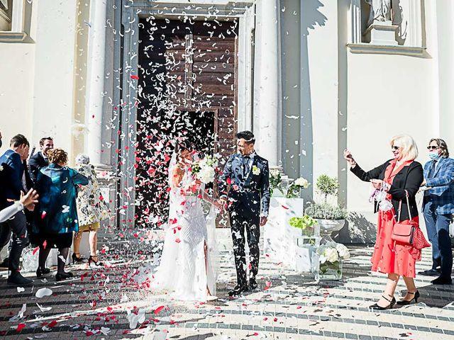 Il matrimonio di Marco e Elena a Bonate Sopra, Bergamo 36