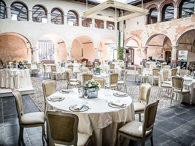 Il matrimonio di Marco e Elena a Bonate Sopra, Bergamo 39