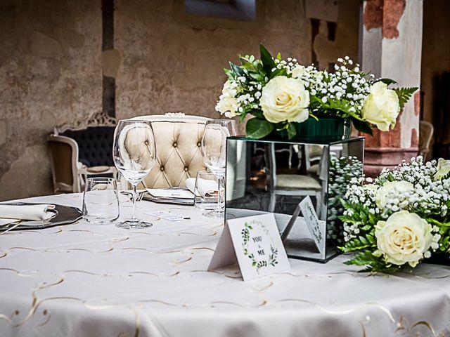Il matrimonio di Marco e Elena a Bonate Sopra, Bergamo 40