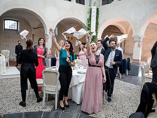 Il matrimonio di Marco e Elena a Bonate Sopra, Bergamo 45