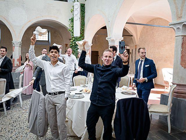 Il matrimonio di Marco e Elena a Bonate Sopra, Bergamo 46