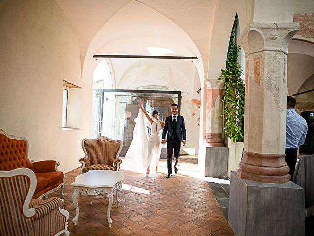 Il matrimonio di Marco e Elena a Bonate Sopra, Bergamo 47